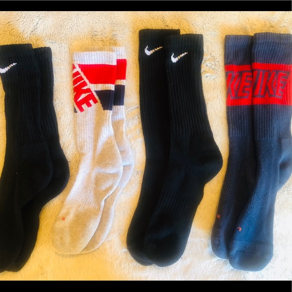 8 Pairs of Nike Men's Socks Size XL